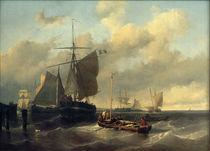 Louis Meijer, Meer mit Fischerbooten von AKG  Images