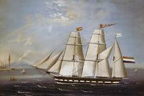 Segelschiff Davo 695 / Gemälde von AKG  Images