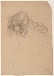 G.Klimt, Weibliches Bildnis (Studie Unkeuschheit) by AKG  Images