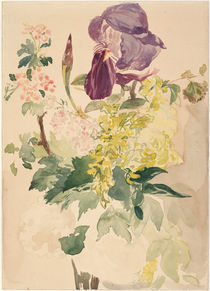 E.Manet, Blumenstück mit Schwertlilie by AKG  Images