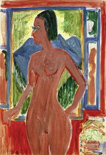 E.L.Kirchner, Nackte Frau am Fenster von AKG  Images