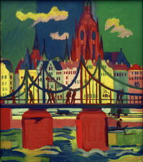 E.L.Kirchner / Frankfurt Cathedral by AKG  Images