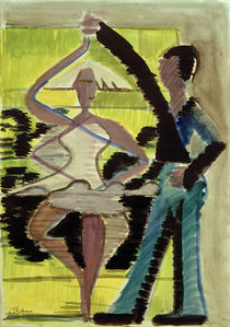 E.L.Kirchner / Couple Dancing by AKG  Images