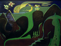 E.L.Kirchner / Nocturnal Landscape by AKG  Images