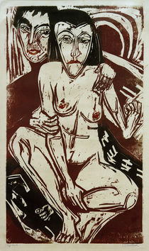 E.L.Kirchner / Melancholy (Self-Portrait) by AKG  Images