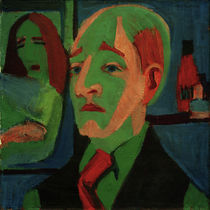 Jan Wiegers / Painting by E.L.Kirchner by AKG  Images
