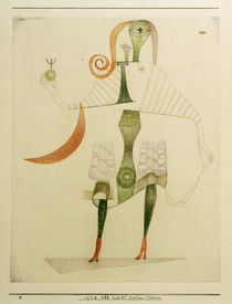 Paul Klee, Female Costume Mask / 1924 by AKG  Images