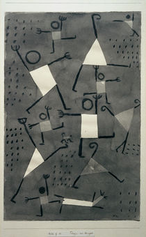 Paul Klee, Dance for Fear / Paint./ 1938 by AKG  Images