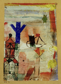 Paul Klee, Small Steamer / 1919 by AKG  Images