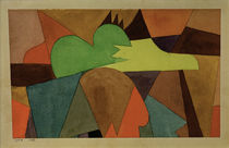 Paul Klee, With the Brown Points / 1914 by AKG  Images