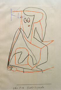 P.Klee, Bart-Nymphe (Bearded Nymph) /1940 by AKG  Images