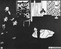 F.Vallotton, The Symphony by AKG  Images