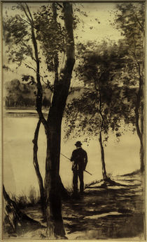 L.Ury, Der Angler by AKG  Images