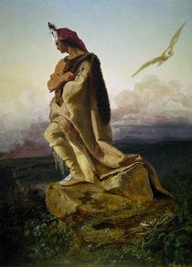 Cooper, Der letzte Mohikaner / E.G.Leutze von AKG  Images