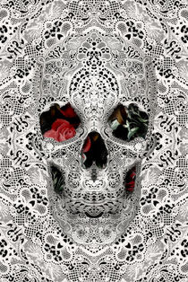 Lace Skull Light von Ali GULEC