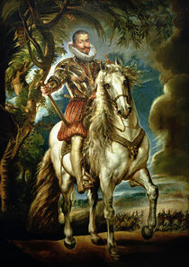Equestrian portrait of the Duke of Lerma 1603 by Peter Paul Rubens