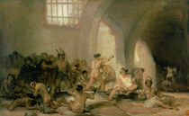 The Madhouse, 1812-15 by Francisco Jose de Goya y Lucientes