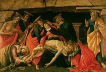 Lamentation of Christ. c.1490 by Sandro Botticelli