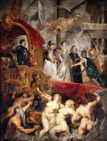The Arrival of Marie de Medici in Marseilles von Peter Paul Rubens