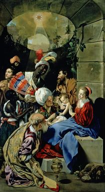The Adoration of the Kings von Fray Juan Batista Maino or Mayno