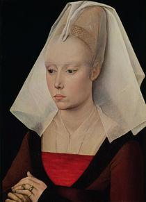 Portrait of a Lady, c.1450-60 von Rogier van der Weyden