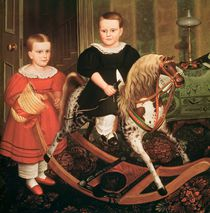 The Hobby Horse, c.1840 by North American
