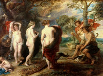 The Judgement of Paris, c.1632-35 by Peter Paul Rubens