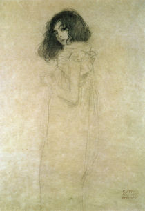 Portrait of a young woman, 1896-97 von Gustav Klimt