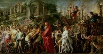 A Roman Triumph, c.1630 von Peter Paul Rubens