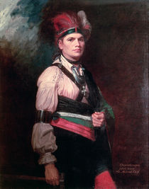 Joseph Brant, Chief of the Mohawks by George Romney
