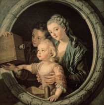 The Camera Obscura, 1764 by Charles-Amedee-Philippe van Loo
