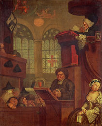 The Dull Sermon by John Collet