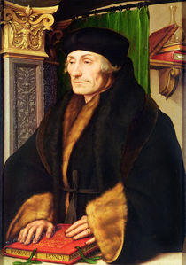Portrait of Erasmus, 1523 von Hans Holbein the Younger