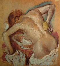 Woman at her toilet, c.1894 by Edgar Degas