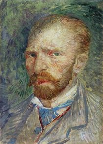 Self Portrait, 1887 von Vincent Van Gogh
