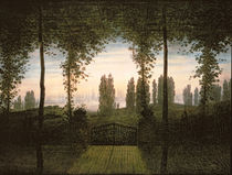 Remembrance of Johann Bremen by Caspar David Friedrich