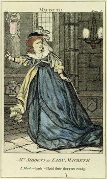 Sarah Siddons as Lady Macbeth von English School