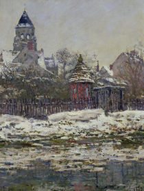 The Church at Vetheuil, 1879 by Claude Monet