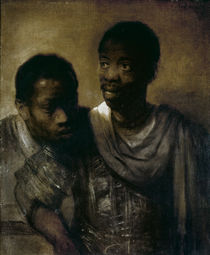 Two Negroes, 1661 by Rembrandt Harmenszoon van Rijn