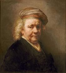 Self Portrait, 1669 by Rembrandt Harmenszoon van Rijn