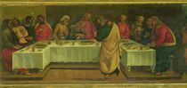 Predella Panel: Last Supper by Luca Signorelli