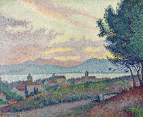 St. Tropez, Pinewood, 1896 by Paul Signac