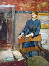Helene Rouart in her Father's Study von Edgar Degas