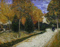Path in the Park at Arles, 1888 by Vincent Van Gogh