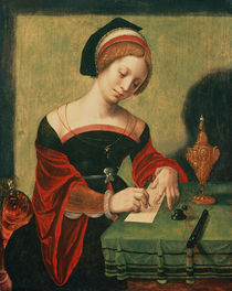Portrait of a Lady as the Magdalen by Master of the Female Half Lengths