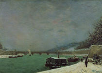 The Seine at the Pont d'Iena von Paul Gauguin