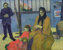The Schuffenecker Family, or Schuffenecker's Studio von Paul Gauguin