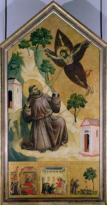 St. Francis Receiving the Stigmata by Giotto di Bondone