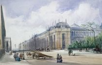 South-east Aspect of the 1862 Exhibition Building by William Callow