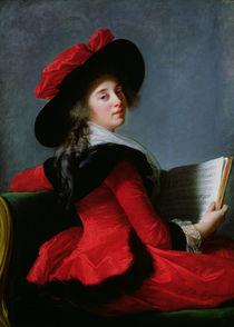 La Baronne de Crussol, 1785 by Elisabeth Louise Vigee-Lebrun